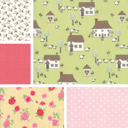 Cottontail Cottage - Fat Quarter Bundle 1