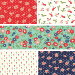 Early Bird - Fat Quarter Bundle 2 - PRE ORDER DUE NOVEMBER