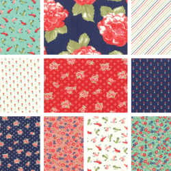 Early Bird - Bundle of 10 Fat Quarters - 1 FQ Free! - PRE ORDER DUE NOVEMBER