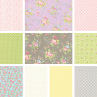 Finnegan - Fat Quarter Bundle 3 - 10 FQs, 1 FQ Free!