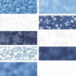Forest Frost Favorites - Fat Quarter Bundle - 1 FQ Free!