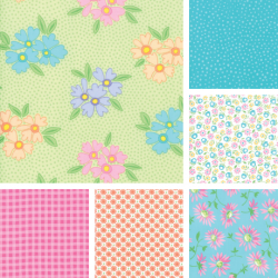 Good Day - Bundle of 6 Fat Quarters 1 - PRE ORDER DUE AUGUST