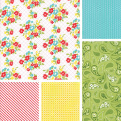 Mama's Cottage - Fat Quarter Bundle 1