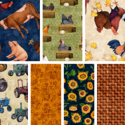 Sunrise Farm - Fat Quarter Bundle 1 - PRE ORDER DUE OCTOBER