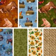 Sunrise Farm - Fat Quarter Bundle 2  - PRE ORDER DUE OCTOBER