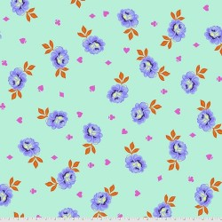 Curiouser and Curiouser - Big Buds Daydream - BACKING FABRIC - PRE-ORDER DUE MAY