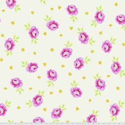 Curiouser and Curiouser - Big Buds Wonder - BACKING FABRIC - PRE-ORDER DUE MAY