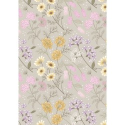 Botanic Garden - Garden Floral On Linen - PRE ORDER DUE MARCH