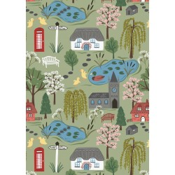 The Village Pond - Fat Quarter Bundle
