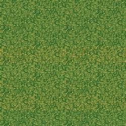 Classic Foliage - Scroll Green - PRE-ORDER DUE MAY
