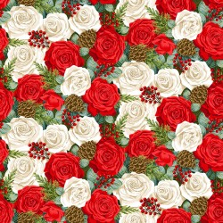 Classic Foliage - Christmas Rose - PRE-ORDER DUE MAY