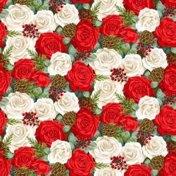 Classic Foliage - Christmas Rose