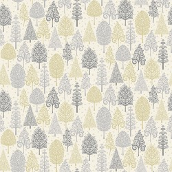 Scandi - Trees Silver - PRE-ORDER DUE MAY