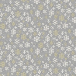 Scandi - Snowflake Silver - PRE-ORDER DUE MAY