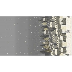 Scandi - Double Border Silver - PRE-ORDER DUE MAY
