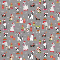 Yappy Christmas - Dog Scatter Slate - PRE-ORDER DUE MAY
