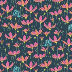 Flora and Fauna - Meadow Navy - PRE-ORDER DUE FEBRUARY