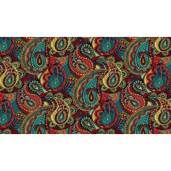 Folk Friends - Paisley Black - PRE-ORDER DUE SEPTEMBER