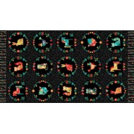 Folk Friends - Panel Black - PRE-ORDER DUE SEPTEMBER