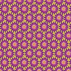 Henna - Sunflower Yellow Purple - PRE-ORDER DUE SEPTEMBER