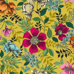Jewel Tones - Floral Yellow - PRE-ORDER DUE OCTOBER