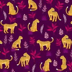 Jewel Tones - Cheeky Leopard Purple - PRE-ORDER DUE OCTOBER