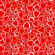 Pamper - Hearts Red - PRE-ORDER DUE FEBRUARY