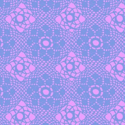 Sun Prints 2021 - Crochet in Purple - PRE-ORDER DUE JANUARY