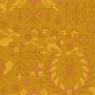 Sun Prints 2022 - 10th Anniversary Collection - Menagerie in Amber - PRE-ORDER DUE JANUARY