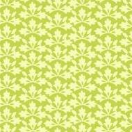 Bungalow - Blossom Block Print Lime - PRE-ORDER DUE FEBRUARY/MARCH