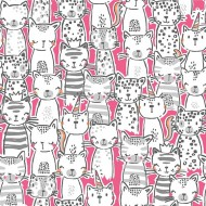 Meowgicals - A Pawsome Bunch Pink