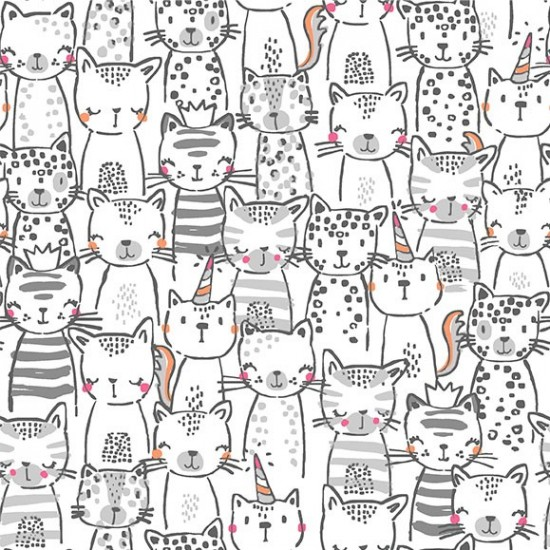 Meowgicals - A Pawsome Bunch White - PRE-ORDER DUE JANUARY/FEBRUARY