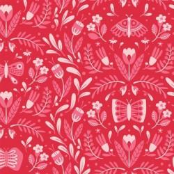 Open Fields: Full Of Wonder - Butterfly Frolic Red - PRE-ORDER DUE APRIL