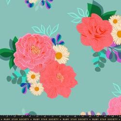 "Ruby Star Society - Camellia 108"" Wideback - Ocean - PRE-ORDER DUE DECEMBER"