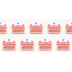 Ruby Star Society - Darlings 2 - Typewriters Buttercream - PRE-ORDER DUE FEBRUARY