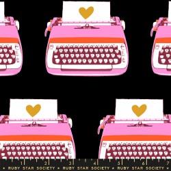 Ruby Star Society - Darlings 2 - Typewriters Black - PRE-ORDER DUE FEBRUARY