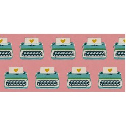 Ruby Star Society - Darlings 2 Canvas - Typewriters Merry - PRE-ORDER DUE FEBRUARY