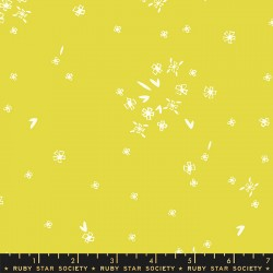 Ruby Star Society - First Light - Tiny Flowers Citron - PRE-ORDER DUE AUGUST