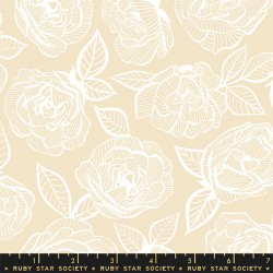 Ruby Star Society - First Light - Floral Lace Parchment - PRE-ORDER DUE AUGUST