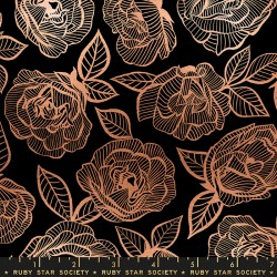 Ruby Star Society - First Light - Floral Lace Black - PRE-ORDER DUE AUGUST