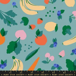 Ruby Star Society - Food Group - Green Grocer Ocean - PRE-ORDER DUE JULY/AUGUST