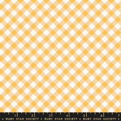 Ruby Star Society - Food Group - Painted Gingham Butternut - PRE-ORDER DUE JULY/AUGUST