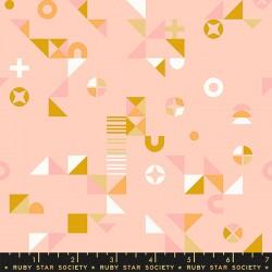 Ruby Star Society - Koi Pond - Motif Madness Pale Peach - PRE-ORDER DUE APRIL
