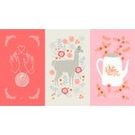 Ruby Star Society - Purl - Purl Panel Posy - PRE-ORDER DUE APRIL