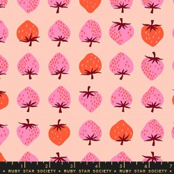 Ruby Star Society - Strawberry and Friends - Strawberry Pale Peach - PRE-ORDER DUE JUNE