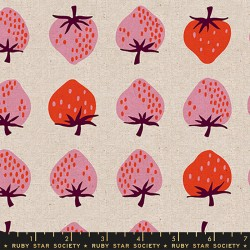 Ruby Star Society - Strawberry And Friends Canvas - Strawberry Natural - PRE-ORDER DUE FEBRUARY