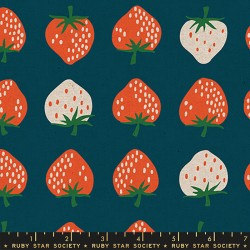Ruby Star Society - Strawberry And Friends Canvas - Strawberry Blue - PRE-ORDER DUE FEBRUARY