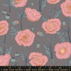 Ruby Star Society - Unruly Nature - Icelandic Poppies Cloud - PRE-ORDER DUE NOVEMBER
