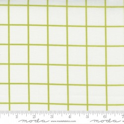 One Fine Day - Windowpane Ivory Green - PRE-ORDER DUE DECEMBER