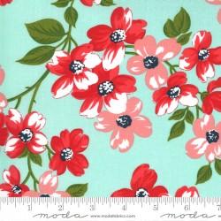 Sunday Stroll - Full Bloom Aqua - PRE-ORDER DUE APRIL